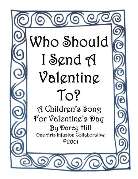 Valentine's Day Sheet Music (Who Should I Send A Valentine To?)