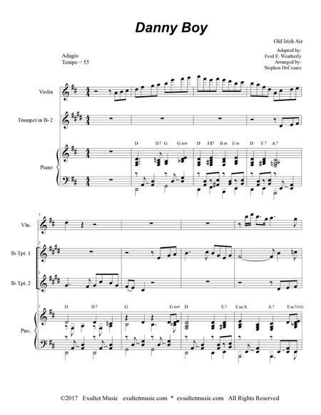Danny Boy (Duet for Bb-Trumpet)