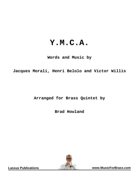 Y.M.C.A. for Brass Quintet