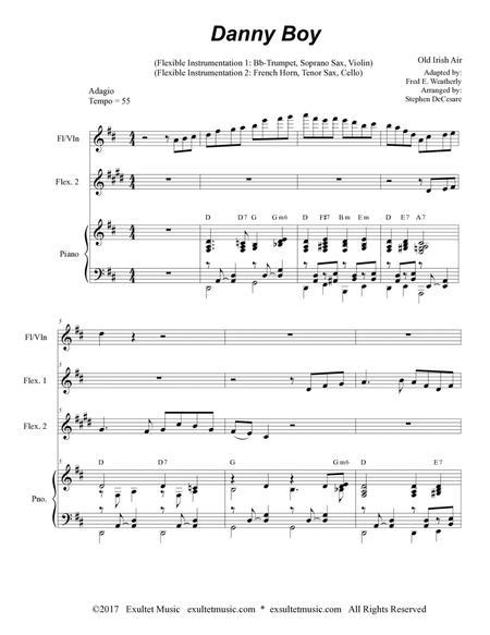 Danny Boy (for Flexible Instrumentation)