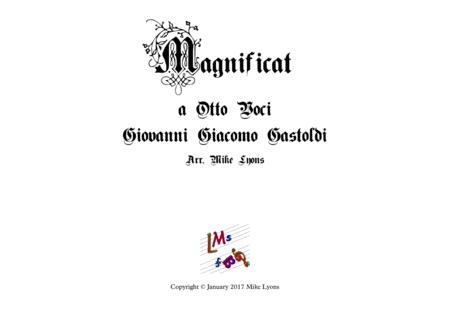 Magnificat for 8 voices - Gastoldi (Brass Choir)