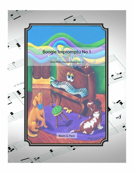 Boogie Impromptu No. 1 - original piano solo
