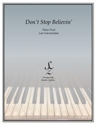 Don't Stop Believin'