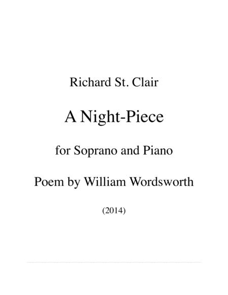 A Night-Piece for Mezzo-Soprano and Piano after Wordsworth