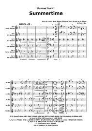 Summertime - Gershwin - Ballad - Saxophone Quartet