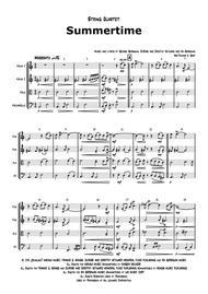 Summertime - Gershwin - Ballad - String Quartet