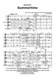Summertime - Gershwin - Ballad - Wind Quintet