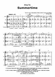 Summertime - Gershwin - Ballad - String Trio