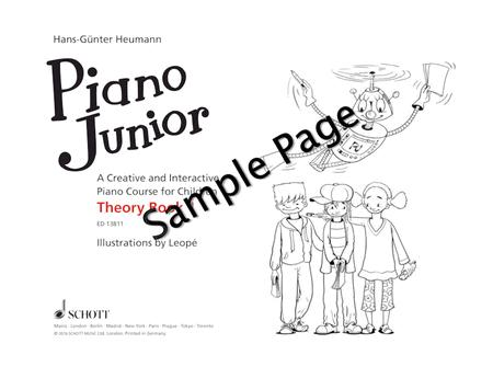 Piano Junior: Theory Book Vol. 1