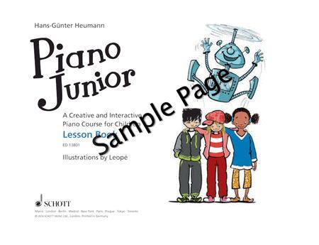 Piano Junior: Lesson Book 1 Vol. 1
