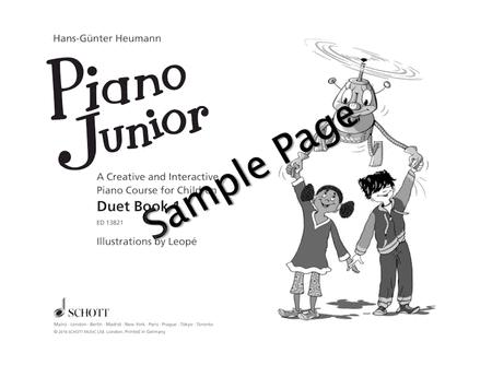 Piano Junior: Duet Book 1 Vol. 1