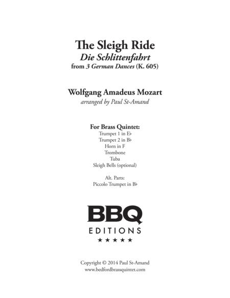 Sleigh Ride (Mozart) - Brass Quintet