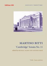 Cambridge' Sonata No. 11