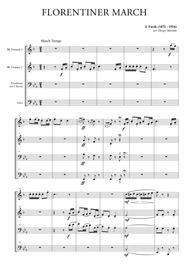 Florentiner March for Brass Quartet
