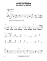 Download Ordinary World Sheet Music By Green Day Sheet Music Plus