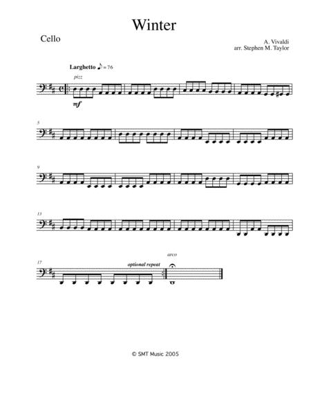 Winter from the Four Season (Vivaldi)