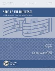 Song of the Universal (SATB - Vocal Score)