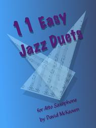 11 Easy Jazz Duets for Alto Saxophone