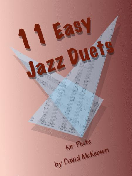 11 Easy Jazz Duets for Flute