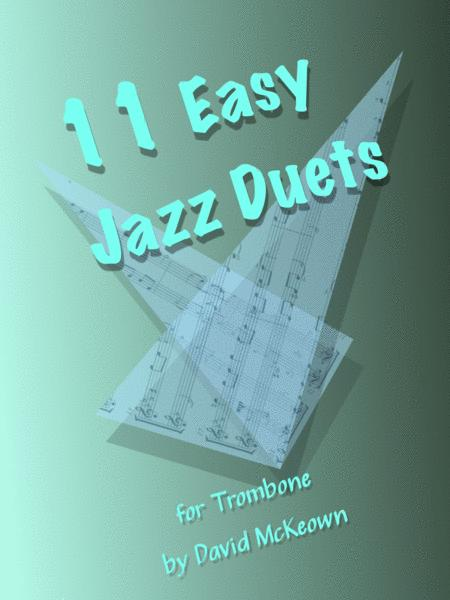 11 Easy Jazz Duets for Trombone