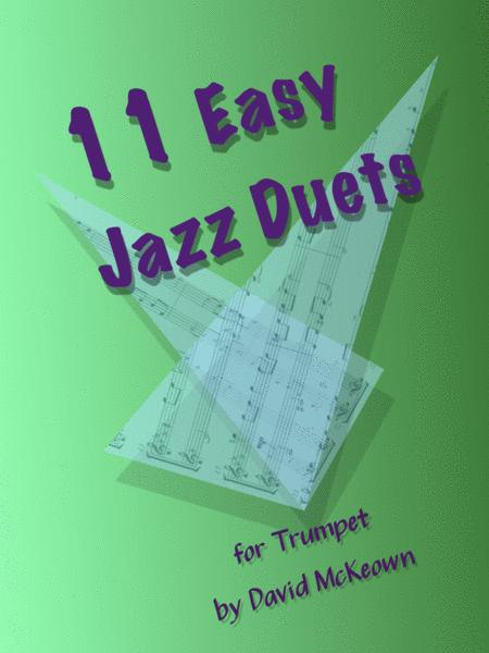 Download 11 Easy Jazz Duets For Trumpet Sheet Music By David Mckeown