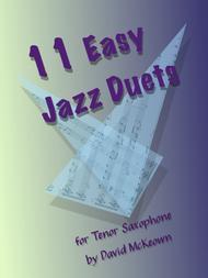 11 Easy Jazz Duets for Tenor Saxophone