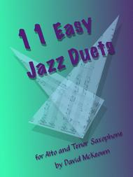 11 Easy Jazz Duets for Alto and Tenor Saxophone