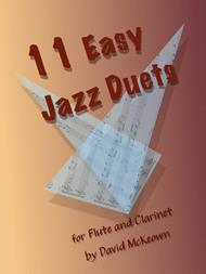 11 Easy Jazz Duets for Flute and Clarinet