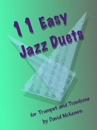 11 Easy Jazz Duets for Trumpet and Trombone