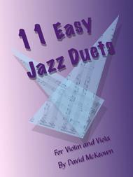 11 Easy Jazz Duets for Violin and Viola
