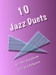 10 Jazz Duets for Alto Saxophone
