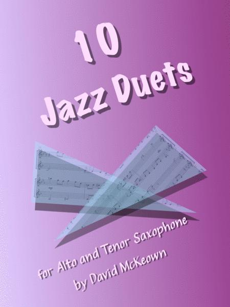 10 Jazzy Duets for Alto and Tenor Saxophone