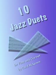 10 Jazzy Duets for Flute and Clarinet