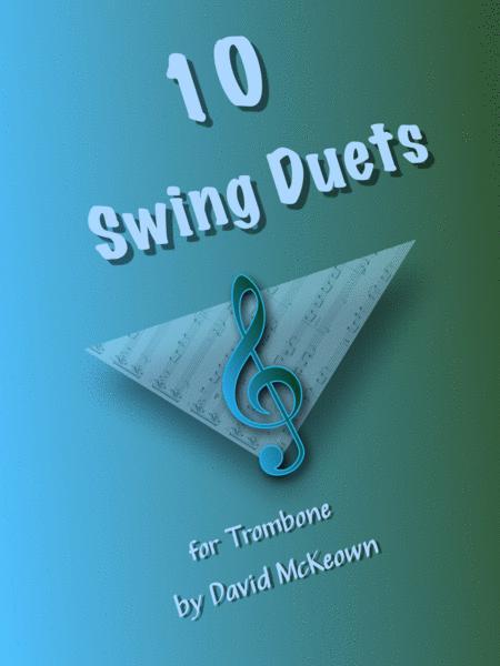 10 Swing Duets for Trombone