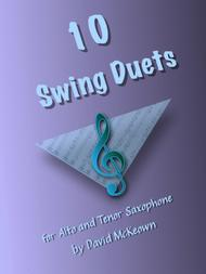 11 Swing Duets for Alto and Tenor Saxophone