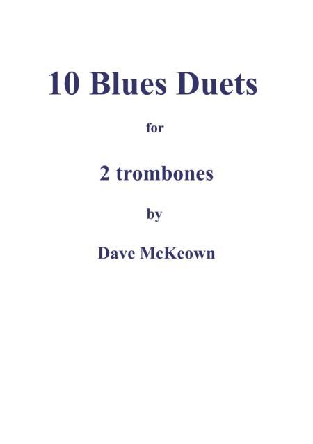 10 Blues Duets for Trombone