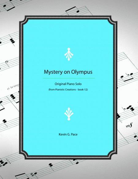 Mystery on Olympus - original piano solo