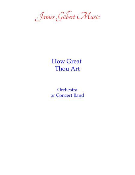 How Great Thou Art [O STORE GUD] (IE/CB)