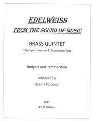 Edelweiss for Brass Quintet