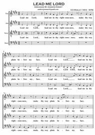 Lead Me Lord A Cappella