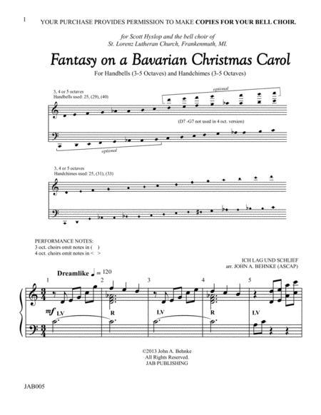 Fantasy on a Bavarian Christmas Carol