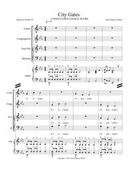 City Gates 02 Choral Conductor's Score