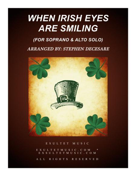 When Irish Eyes Are Smiling (Duet for Soprano and Alto Solo)