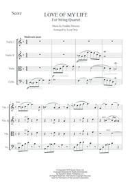 QUEEN Love Of My Life String Quartet
