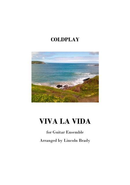 VIVA LA VIDA by COLDPLAY - (Conductor's Score Only)