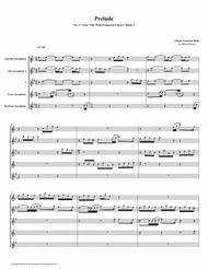 Prelude 17 from Well-Tempered Clavier, Book 2 (Saxophone Quintet)