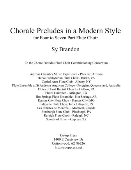 Chorale Preludes in a Modern Style