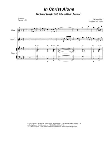 In Christ Alone (for String Quartet)