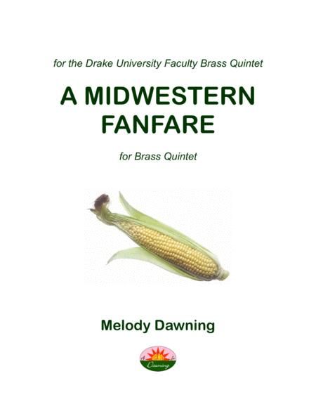 A Midwestern Fanfare for Brass Quintet