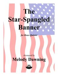 The Star-Spangled Banner (US National Anthem) for Brass Quintet